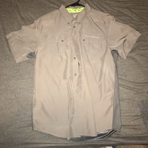 HUK fishing polo